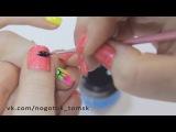 Дизайн ногтей на гель-лаке.