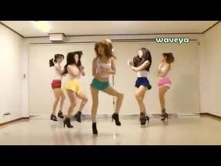 Gangam Style by girls. ������ ����� ������� �������.